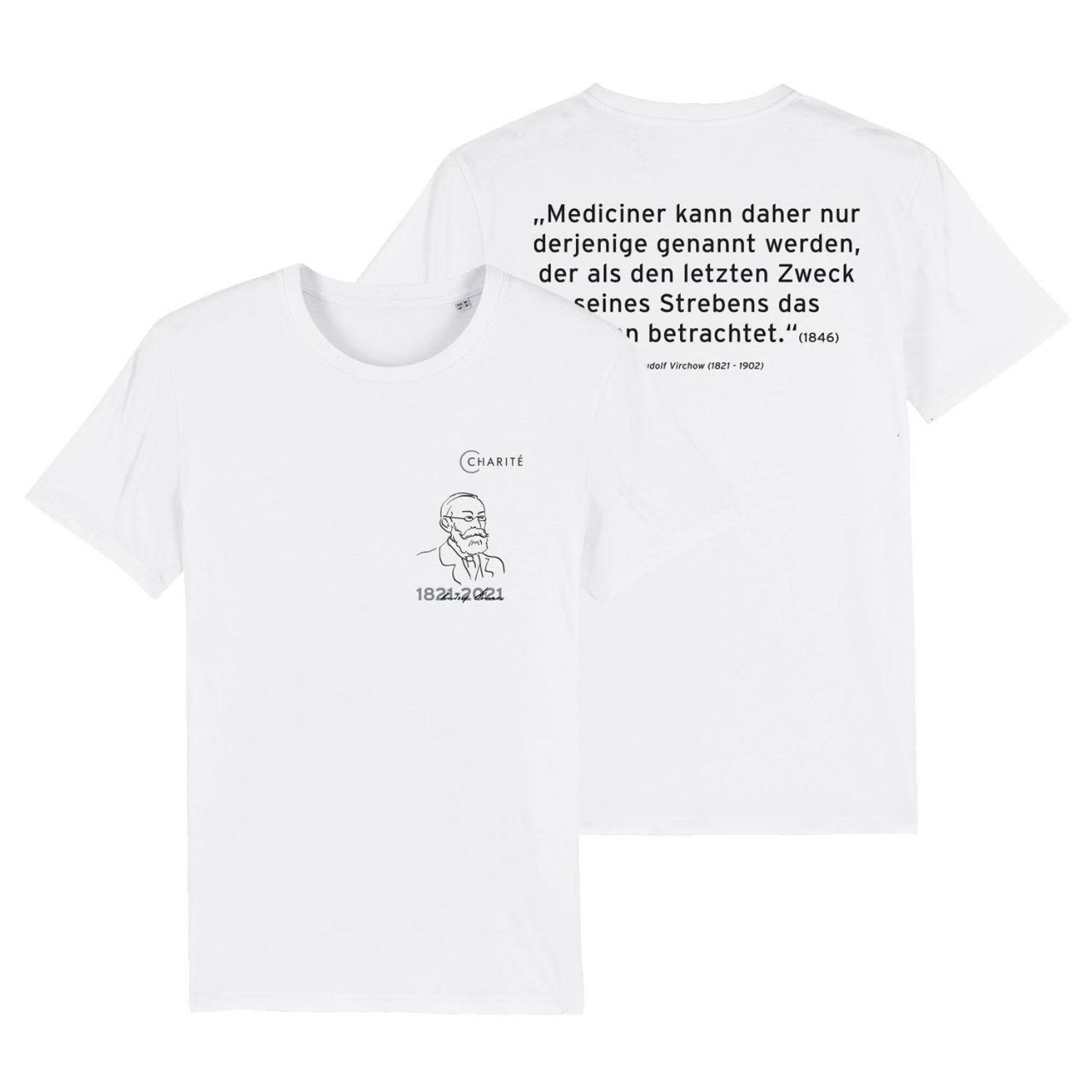 Unisex T-Shirt, weiss, Rudolf Virchow
