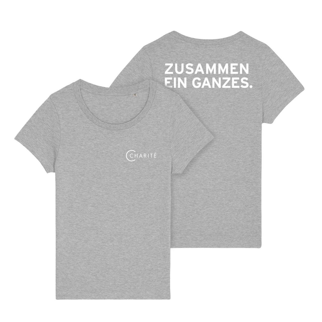 Damen T-Shirt, grau, ZEG